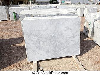 laden, platten, verkauf, marmor