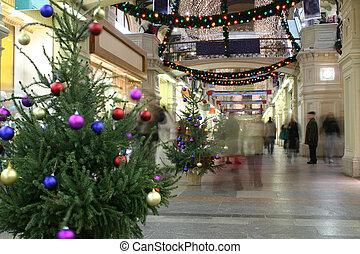 laden, weihnachten