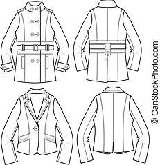 Ladies Blazer Jackets