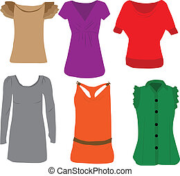 Ladies Fashion - blouses