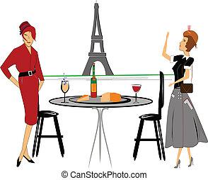 ladies having a drink