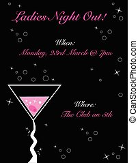 Ladies Night Out Invitation