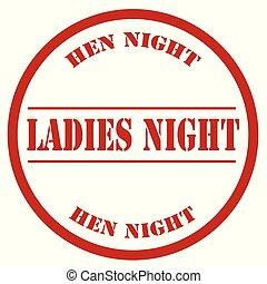Ladies Night-stamp
