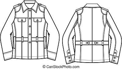 Ladies woman denim jackets