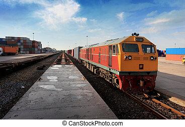 lading trein