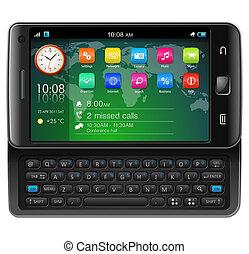 lado, slider, touchscreen, smartphone