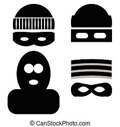 ladrão, ícones