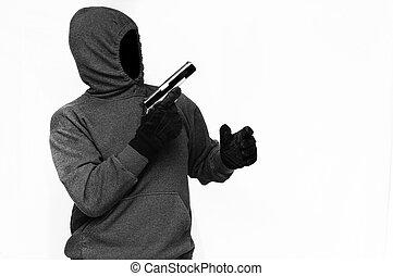 ladrão, arma