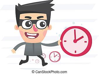 ladrão, tempo