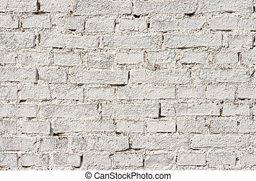 ladrillo blanco, pared