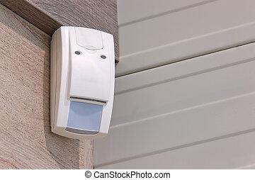 ladrones, detectar, sensor