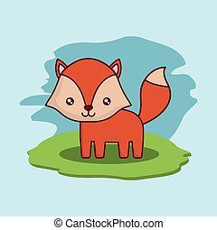 cute fox icon