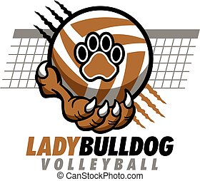 lady bulldog volleyball