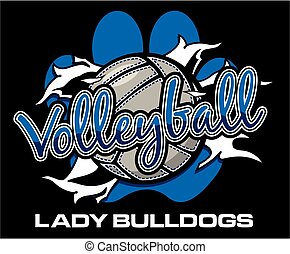 lady bulldogs volleyball