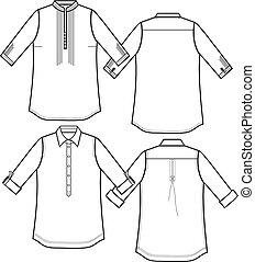 lady dress shirts