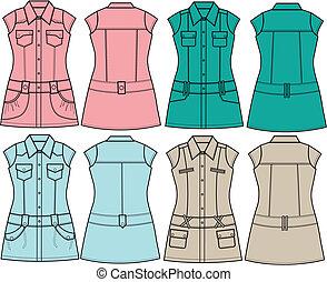 lady fashion tunic blouse