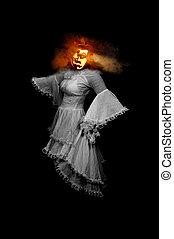 Lady Jack-O-Lantern