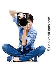 lady-photographer, tart, shots