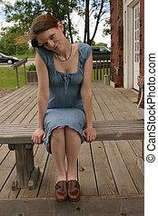 Lady Sitting