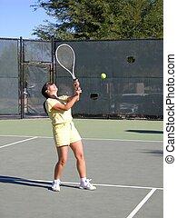 Lady Tennis Player 1