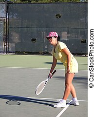 Lady Tennis Player 1