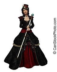 Lady Vlada CA, 3d CG