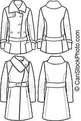 lady wool jacket