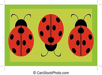 ladybug background
