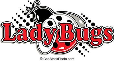 ladybugs logo for team or sports