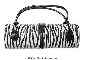 Lady's Handbag on White Background