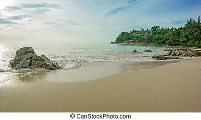Laem Sing Beach in the evening. Thailand. Phuket