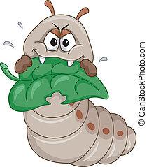 lagarta, mascote
