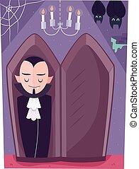 clipart von sarg vampir vampir sarg illustration freigestellt csp1646091 suche nach. Black Bedroom Furniture Sets. Home Design Ideas