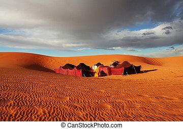 lager, wüste