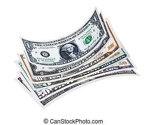 lagförslaget, dollar, stack