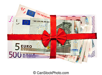 lagförslaget, röd remsa, euro