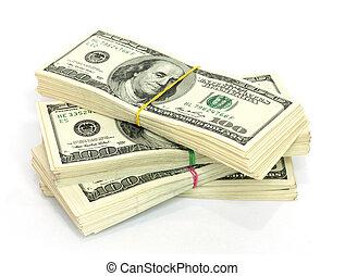 lagförslaget, stack, $100