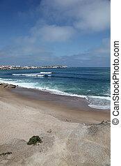 Lagido surf break Baleal Portugal - Lagido surf break at...