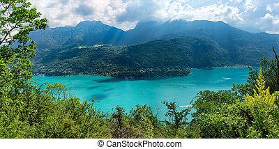 lago annecy, vista