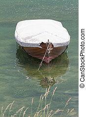 lago, bote