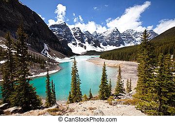 lago, canadiense