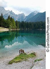 Lago di Fusine - Friuli Italy - Fusine Lake (Lago di...
