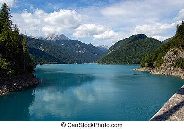 Lago di Sauris - Friuli Venezia Giulia Italy - The...