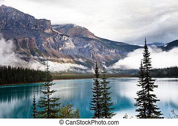 lago, esmeralda