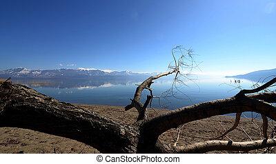 lago grande, prespa, macedonia