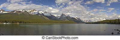 lago maligne, jasper parco nazionale