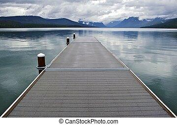 lago mcdonald, montana