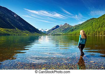 lago montanha