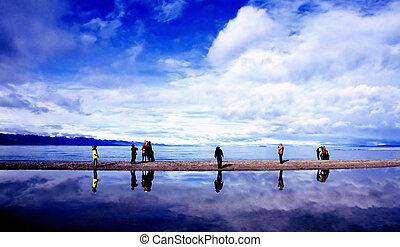 lago, pacifico