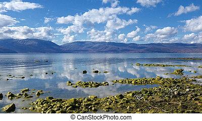 lago, prespa, em, macedonia
